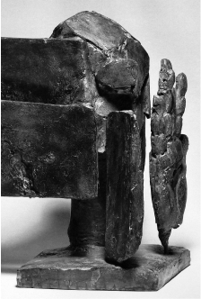 'Portrait de Michel Waldberg' ('Portrait of Michel Waldberg'), bronze (1967). Used for the cover of 'Isabelle Waldberg', by Michel Waldberg, ELA (1992). © All rights reserved